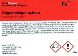 flowmaxx autopflege koch chemie leerflaschen etikett. Black Bedroom Furniture Sets. Home Design Ideas