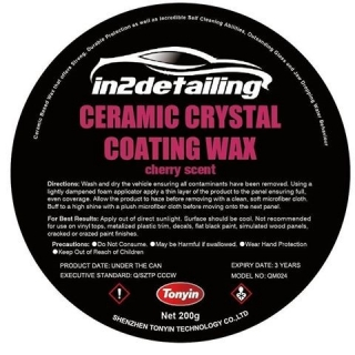 in2Detailing Tonyin Ceramic Crystal Wax Black Edition 200g