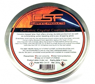 CSF Ceramic Crystal Coating Wax 200g